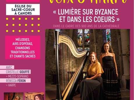 """Récital Voix et Harpe : """" Lumières sur Byzance et dans les Cœurs"""""""