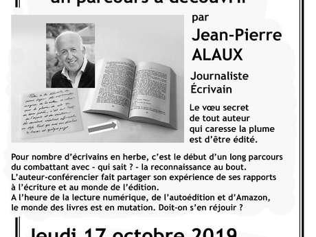 Conférence : Du Manuscrit au Livre, un Parcours à Découvrir