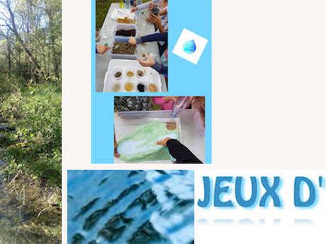 """Atelier """"Nature Hirondelle"""" : Après-midi Nature - Jeux d'Eau !!"""