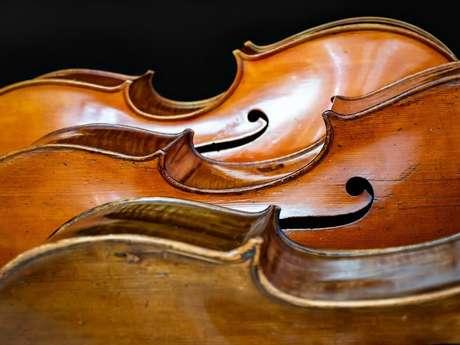 Concert des Amis des Rencontres : XXXIIèmes Rencontres de Violoncelle de Bélaye