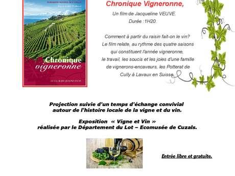 Le Mois du Film Documentaire : Chronique Vigneronne