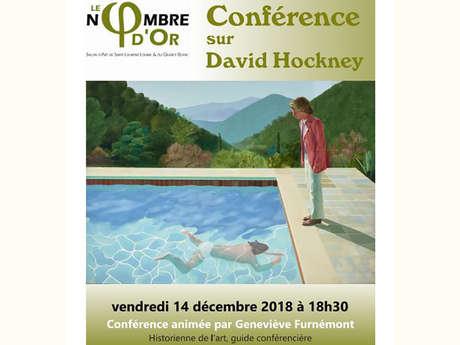 "Conférence sur ""David Hockney"""