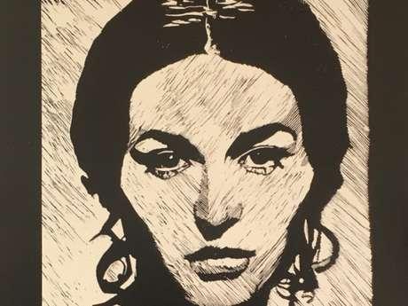 Exposition de Dessins et Gravures de Jacques Moiroud à Montcuq