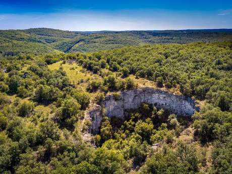 Le sentier karstique de l'igue de Crégols