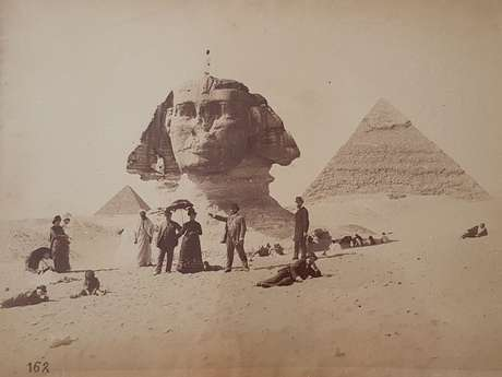 """Visite Guidée en Soirée de l'Exposition : """"Impression d'Égypte"""""""