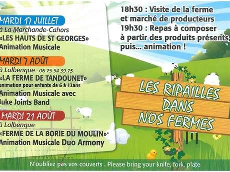 """Marché Gourmand à Lalbenque : """"Les Ripailles dans nos Fermes"""""""