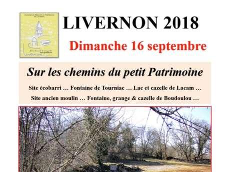 """Journées du Patrimoine Livernon """"Sur les Chemins du Petit Patrimoine"""""""