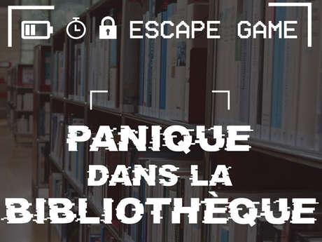 """Escape Game : """"Panique dans la Bibliothèque"""""""