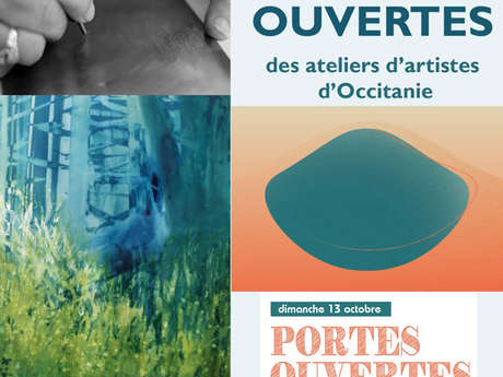 Portes Ouvertes des Ateliers d'artistes d'Occitanie : Karine Veyres à Castelnau-Montratier