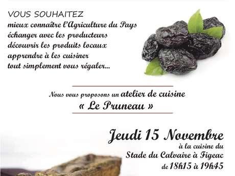 """Atelier de Cuisine, les Passeuses de Goût : """"le Pruneau"""""""
