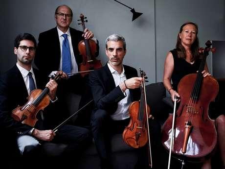 Quatuor Ludwig : Concert Beethoven-Schubert - Les Musicales du Causse