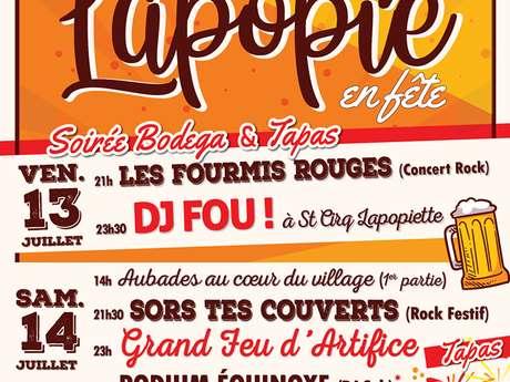 Fête Votive de Saint-Cirq Lapopie