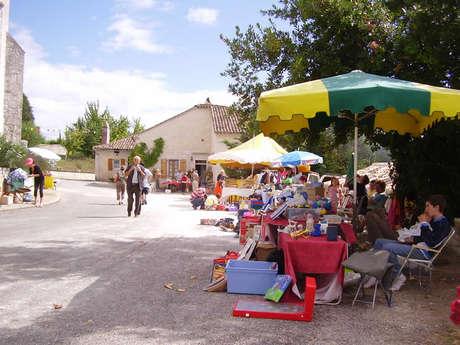 Vide-greniers à Sainte-Alauzie