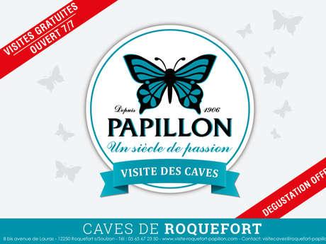 VISITE DES CAVES ROQUEFORT PAPILLON