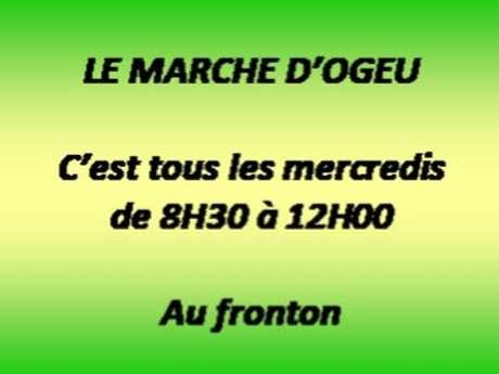 Marché d'Ogeu-Les-Bains