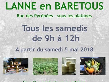 Marché de producteurs et d'artisans de Lanne-en-Baretous