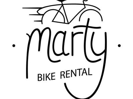 Marty bike & surf rental