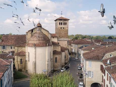 Abbaye bénédictine et abbatiale