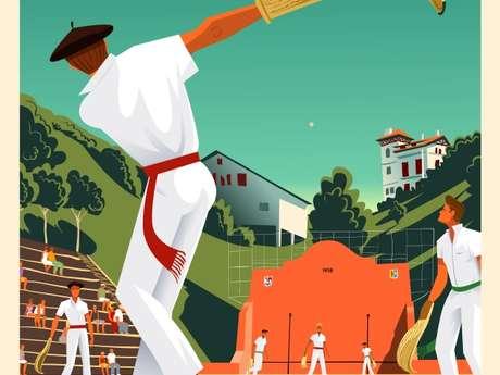 Pelote basque à Grand Chistera