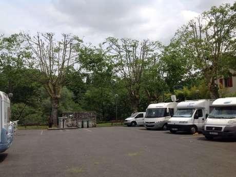 Aire de camping-cars d'Oloron Sainte-Marie