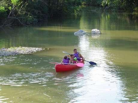 Location balade en canoë kayak sur le Luy