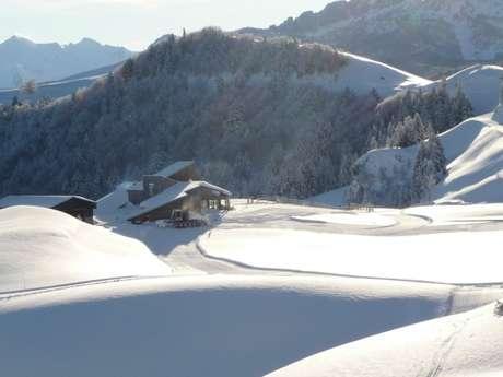 Location de skis-raquettes