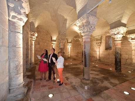 Crypte de Saint-Girons joyau du XIIe siècle