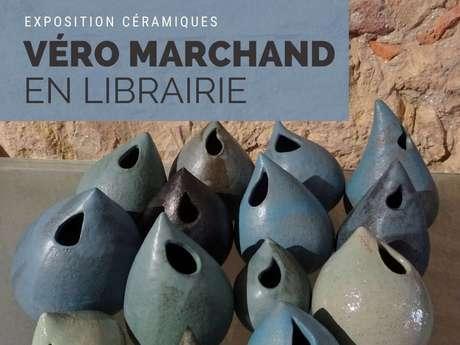Exposition céramique « Véro Marchand en Librairie »