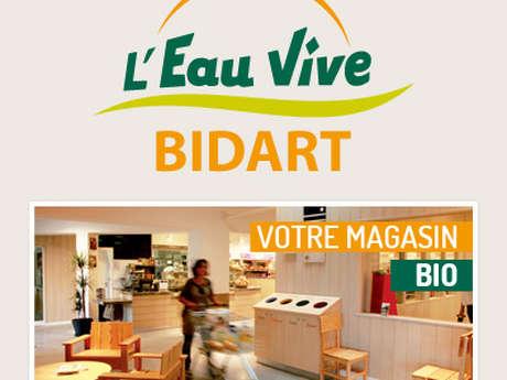 Eau Vive - Magasin Bio