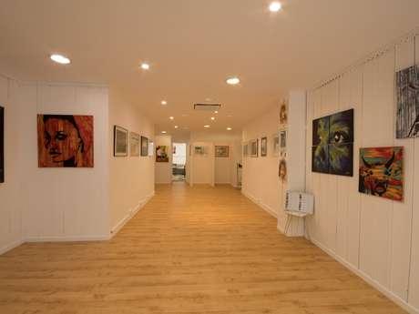 Exposition de peintures galerie Jyga