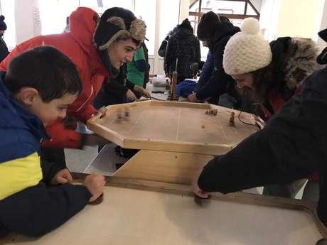 Jeux géants en bois avec Ludopia