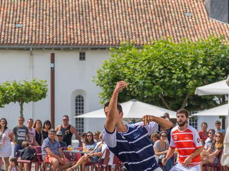 Partie de pelote basque à main nue