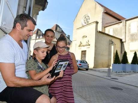 """Visite sur tablette numérique """"le voyage de Guilhem"""""""