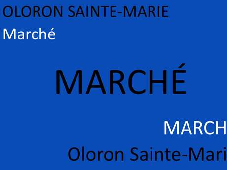 Marché d'Oloron Sainte-Marie