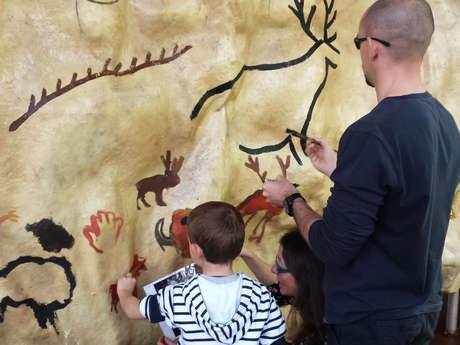 Atelier peinture préhistorique