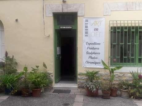 Exposition de photographies et de sculptures