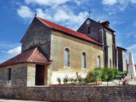 Découverte de l'église Saint-Louvent à Attancourt