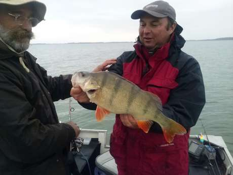 Thierry Lacombe - Moniteur guide de pêche
