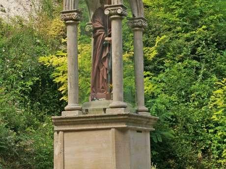 Fontaine Saint Blanchard à Nesle la Reposte