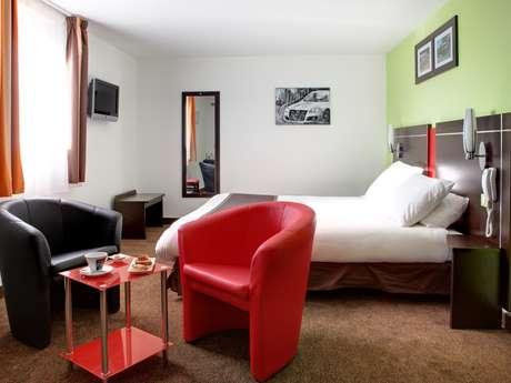 "Hôtel ""Kyriad Design Enzo Reims Tinqueux"""