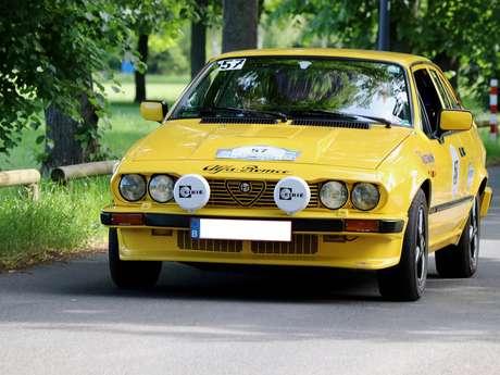 Etape du Rallye Monté Carlo Historique à Vitry-le-François
