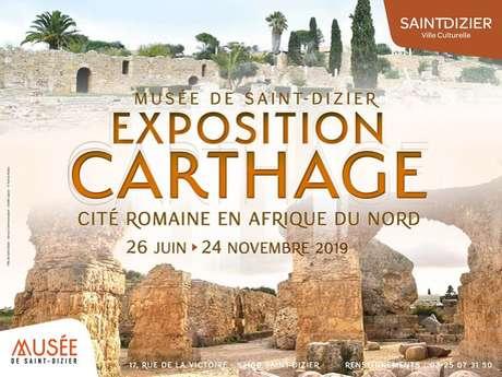 """Visite guidée de l'exposition """"Carthage - Cité romaine en Afrique du Nord"""""""