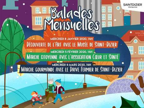 Balade mensuelle : Marche citoyenne