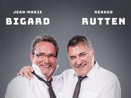 Spectacle : Bigard et Rutten, Cul et Chemise