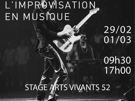 Stage : L'improvisation en musique