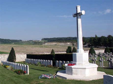 Cimetière civil de Sézanne - carré militaire britannique