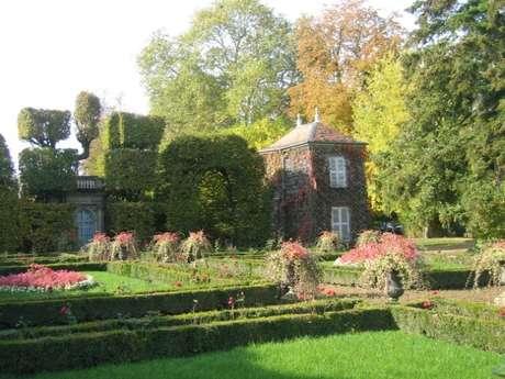 Visite du jardin de la propriété Japiot
