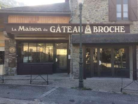 MAISON DU GATEAU A LA BROCHE