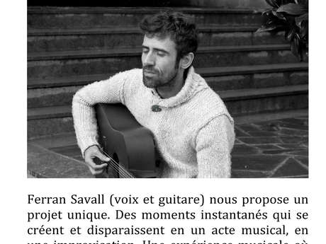 EXPERIENCE MUSICALE : FERRAN SAVALL