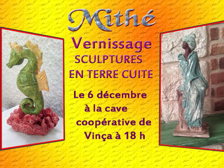 VERNISSAGE DE L'EXPOSITION DE MODELAGES DE MITHE